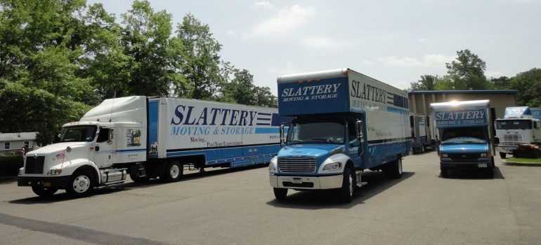 slattery moving trucks